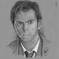 Doctor Who: Tenth Doctor by rfparker