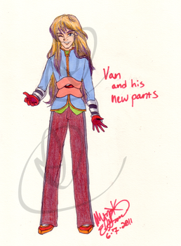 Van's New Pants by IceCoffin