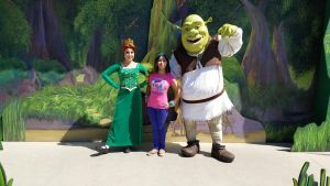 I met Shrek and Fiona together for the first time by Magic-Kristina-KW