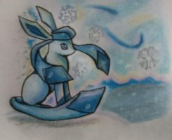 Glaceon by mich-spich