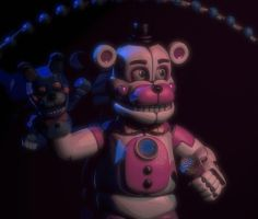 Funtime Freddy Stage Animation by EndyArts