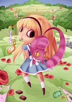 Alice in Wonderland by luliyoyo