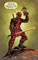 Medieval Deadpool by Ryan Lord by RyanLord
