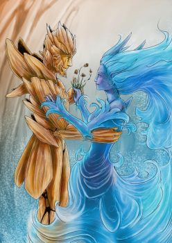 ElementalContest : Earth and Water, the waltz by Najlock