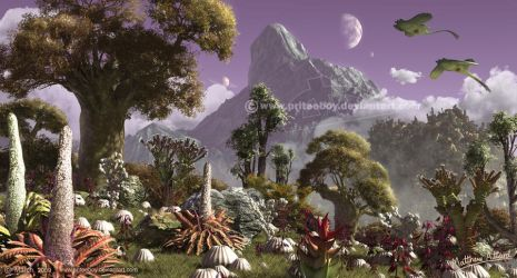 Life on other planets by Chromattix