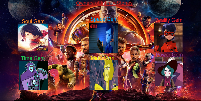 Owners Of Infinity Stones by Writer65