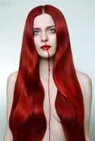 Bleeding Beauty: Icon by FlexDreams
