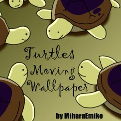 APH - Turtles Moving Wallpaper by MiharaEmiko