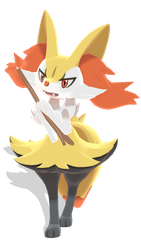 #654 - Braixen Download by kaahgome