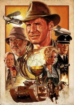 INDIANA JONES and the LAST CRUSADE by RUIZBURGOS