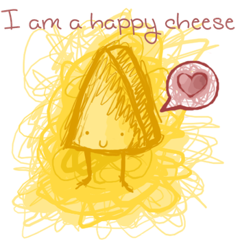 happy cheese by darkmoon3636