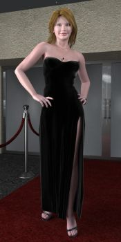 On the Red Carpet by Glitterati3D