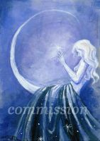 the moon by rawenna