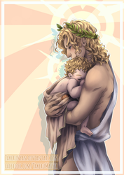 [Takeru] Apollo and his lil' sunshine... by TakeruNyan