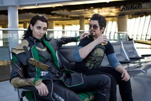 FrostIron Cosplay - You can not have that drink by zahnpasta