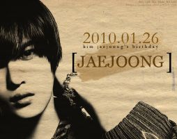 Poster Jaejoong Birthday by OumBoJae