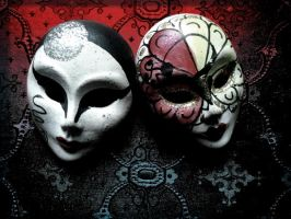 The Masks by butterscotchEYES