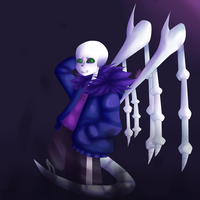 Evil Anti Glitch Ttoba Sans  by StoileArt