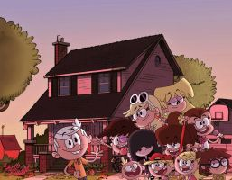 The Loud House by TheFreshKnight