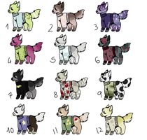 Sweater doggies adpotables    OPEN    cheap by PapyJakesAdoptables