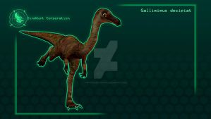 Carnivores Corporation : Gallimimus by PivotNazaOfficial