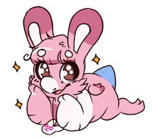 W | The Bunny Baby Is Here by Taeqii