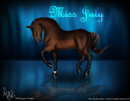 WED-Miss July by WhimsicalRuby