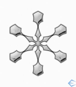 Chrome Snowflake by eriklectric
