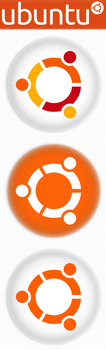Custom Ubuntu Logos by sonicboom1226