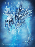 Kaldr, the Ancient Apparition by Fenrirsha