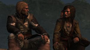 AC - Edward Kenway and Mary Read by Alucard-748