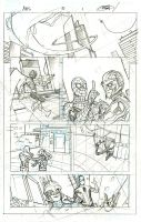 Avengers and X-Men: AXIS 5 Page 1 Pencils by TerryDodson