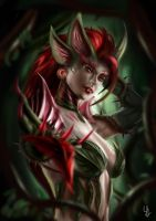 Zyra - Rise of the Thorns by Saint-ism