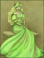Lady of the Green Kirtle by Kecky