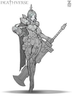 Lilith Dyer Sketch 01 by Zeronis