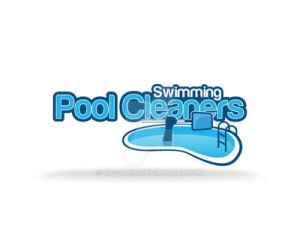 Swimming Pool Cleaners Logo v2 by kasbandi