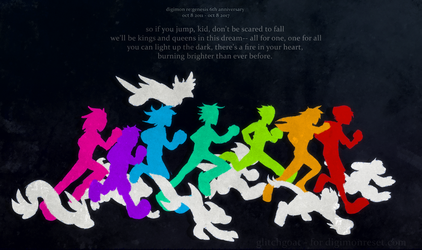 [digimon re:GEN] keep marching on by glitchgoat