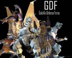Godzilla Unleashed- GDF by Lordstrscream94