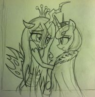 ORIGINAL SKETCH: No Need to Hide Your Face by WillisNinety-Six