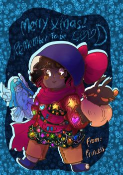 Merry Xmas remeber to BeGood by BubbleDriver