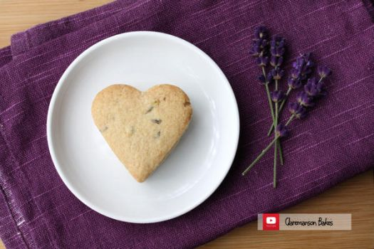 Lavender Biscuits (+YouTube Recipe) by claremanson