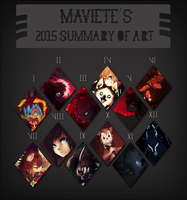2015 Art Summary by Maviete