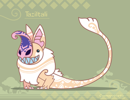 Hiraeth Creature #833 - Taziltali by Cosmopoliturtle