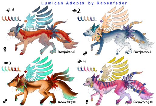 Lumican closed Species batch 1 Auction [OPEN] by Rabenfeder