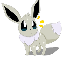 Shiny Eevee by sp19047
