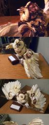 Paper Owl 1 by The-ManWhoLaughs