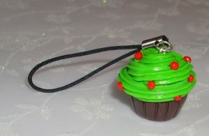 Tree phone charm by PORGEcreations