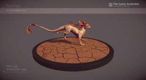 DragonProject- lowpoly1 by Skylarc88
