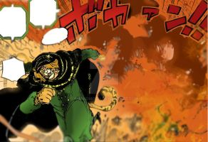 One Piece Chapter 848+ Good-Bye - Pedro explosion by Amanomoon