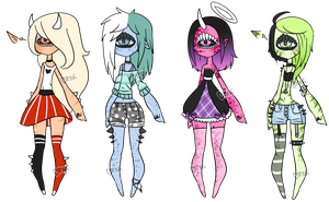 Xynthii: Adopts: CLOSED/PENDING by ObsceneBarbie